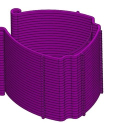 Descargar archivo 3D Soporte de visera V3 x 25, MathieuR12