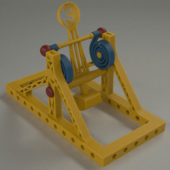 catapult 2.png Download free STL file Catapult toy 2 • 3D printing template, Dape