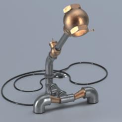 Télécharger plan imprimante 3D gatuit Lampe de robinetterie, Dape