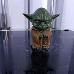 50470046_10156060042573589_7952843130703708160_o.jpg Download free STL file Mini Yoda MultiColor Remix • 3D printer model, xile6