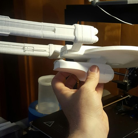 Download free STL file Atlas Class Dreadnought (Star Trek Online) • Template to 3D print, anotherthing