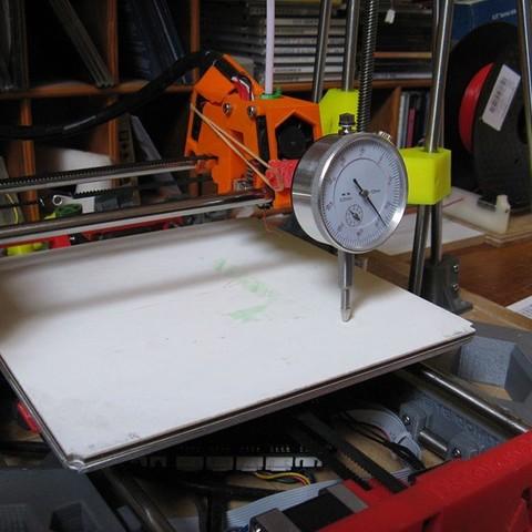 Micrometre 02.jpg Download free STL file DE200 brackets micrometer parallelism head tray • 3D printable template, delmich