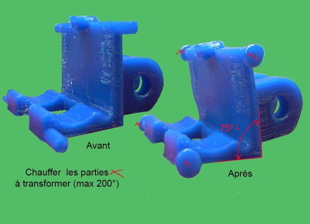 Sup micr D.jpg Download free STL file DE200 brackets micrometer parallelism head tray • 3D printable template, delmich