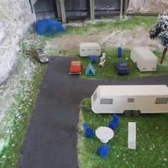 3D printer models Caravan 3Places, dede34500