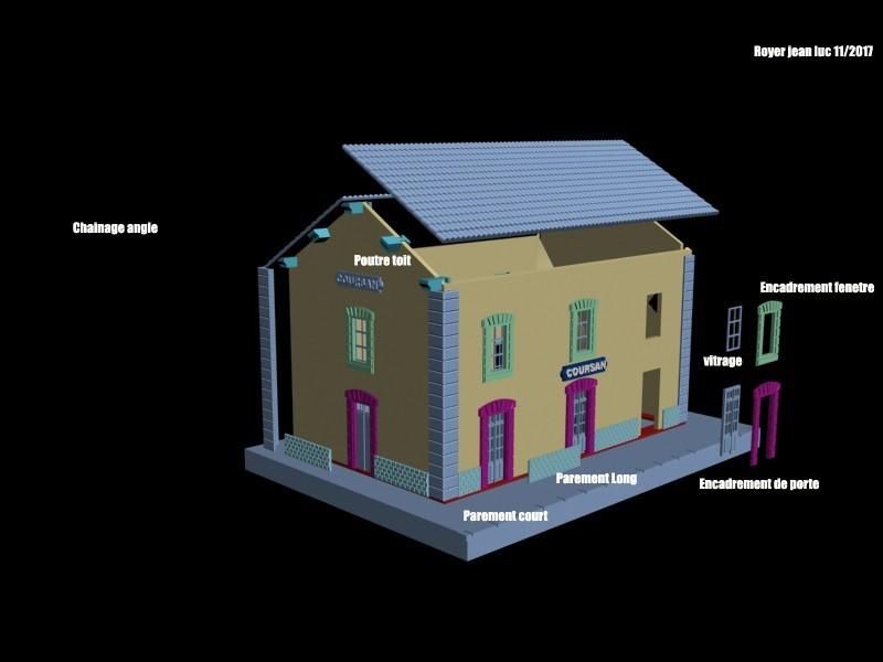 Vue3Declate_recto.jpg Download STL file Station 3 Doors PLM Coursan • 3D print model, dede34500
