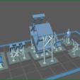 Download 3D printer model HO forklift truck type Fenwick, dede34500