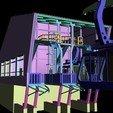 Download STL file Telepherical HO Motorized HO HO for Rail Modeling • 3D printing model, dede34500
