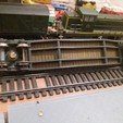 3D printer files HO Low loader wagon, dede34500