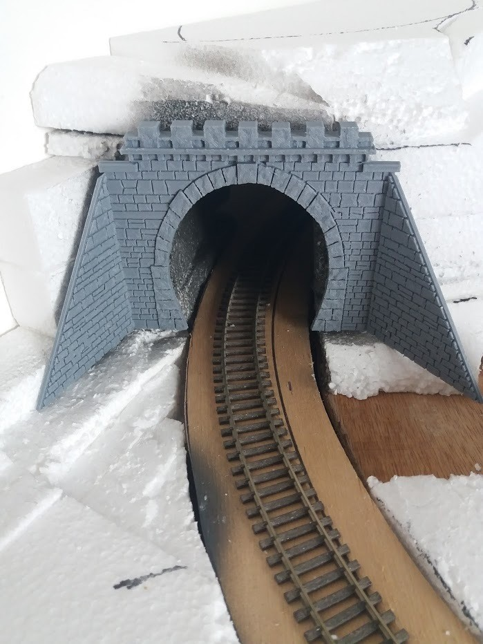 20171020_125944.jpg Download STL file HO tunnel for 1 lane with support • 3D printable object, dede34500