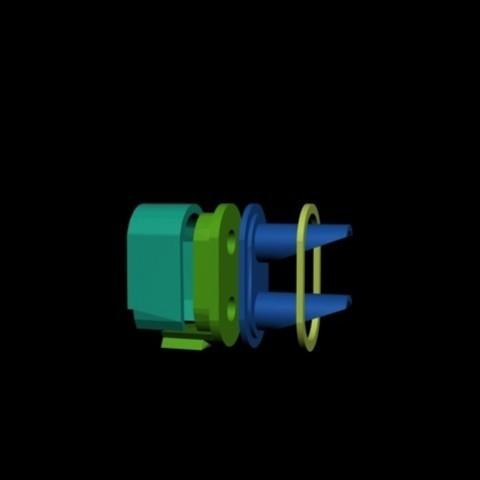 2feux.jpg Download STL file Square signal Purple • Object to 3D print, dede34500