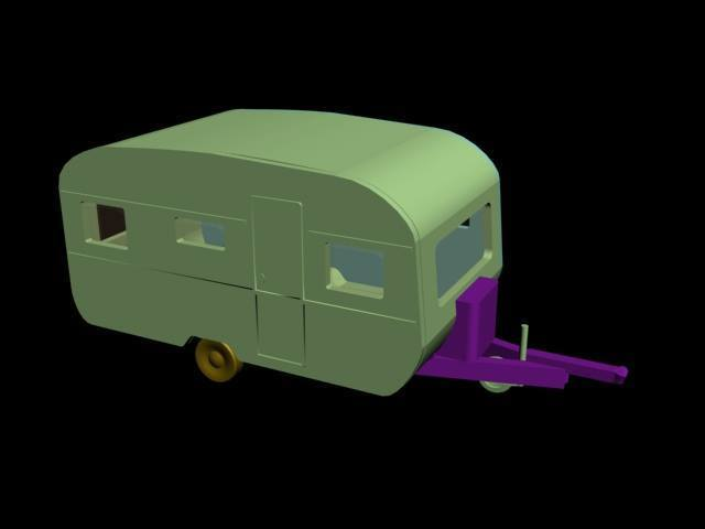 30738582_2040444922693285_5878506589685547008_n.jpg Download STL file Caravan 3Places • 3D printable model, dede34500