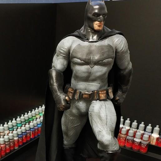 Download free STL files Batman dawn of justice, ricardoladeira