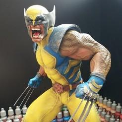Impresiones 3D gratis Traje Wolverine Classic, ricardoladeira