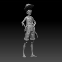Download 3D printer designs ONE PIECE - LUFFY, 3DB