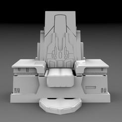 untitled.89.jpg Télécharger fichier STL STAR WARS, trône de la neige • Modèle pour imprimante 3D, 3DB