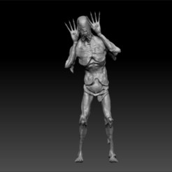 1.jpg Download OBJ file Pan's Labyrinth, the pale man • Design to 3D print, MyMiniCraft