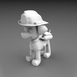Descargar archivo 3D PAW PATROL - Marshall, 3DB