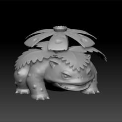 1.jpg Download OBJ file POKEMON - HIGH RES - #003 Venusaur • 3D print model, 3DB
