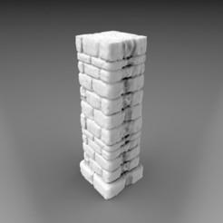 Descargar modelos 3D Pilar básico, 3DB