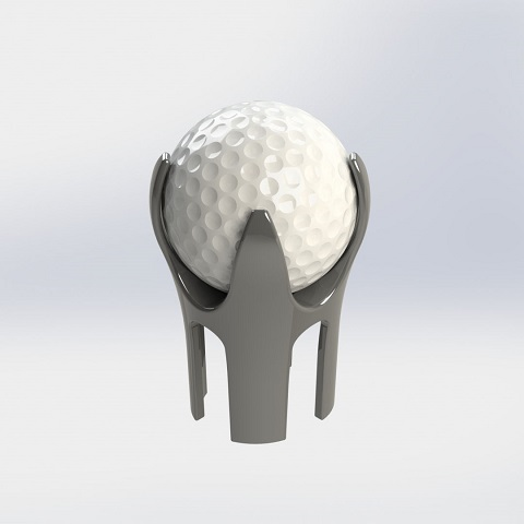 Golf Ball Pick-up, 28x25mm Oval.png Download STL file Golf Ball Pick-up • 3D print model, DIYupgrades
