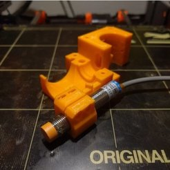 e136436d0da417108e79712f927ff110_preview_featured.jpg Download free STL file Prusa i3 MK2S extruder body with 12mm induction probe holder • 3D printable template, tarek