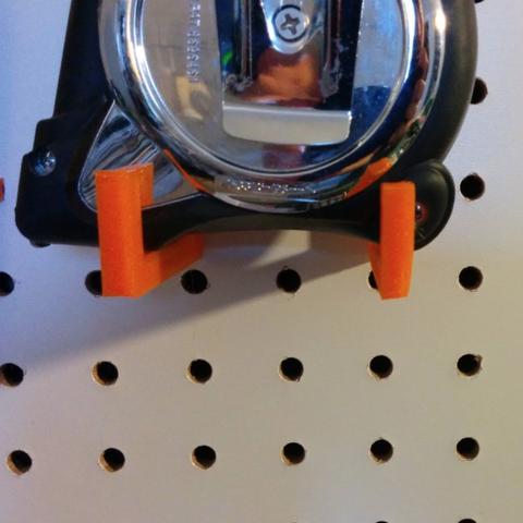 Free 3D file Peg for tape measure, tarek