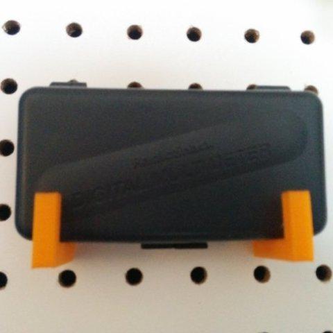 Free 3d model Peg for mini multimeter, tarek