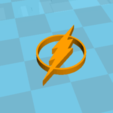 Modelos 3D gratis Logo flash!, Spacegoat