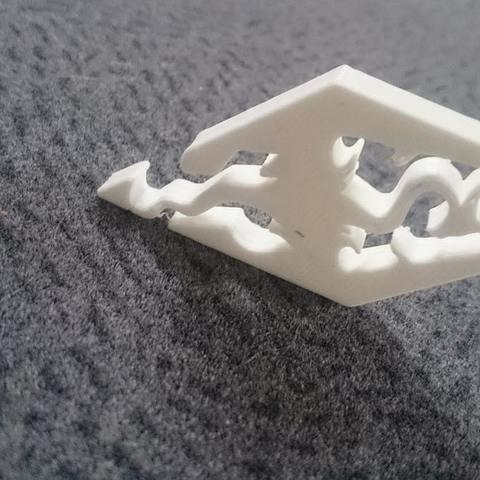 Skyrim 2.jpg Download free STL file Skyrim logo • Model to 3D print, Spacegoat