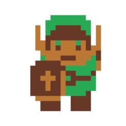 Free 3d printer designs Zelda Link cookie cutter, Spacegoat