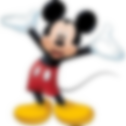 Download free STL file Mickey / Cookie cutter • 3D printable object, Spacegoat