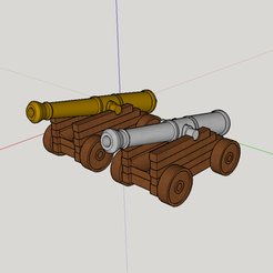 Download 3D print files magnificent war gun (decoration), YOHAN_3D