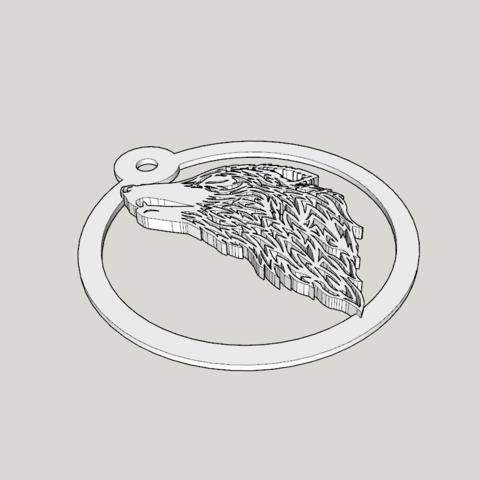 Capture d'écran (1178).png Download STL file wolf paper cut • 3D printing template, YOHAN_3D
