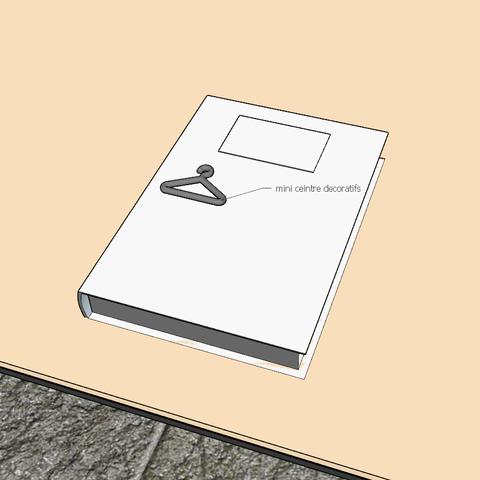 Capture d'écran (83).png Download STL file mini hanger • 3D print template, YOHAN_3D