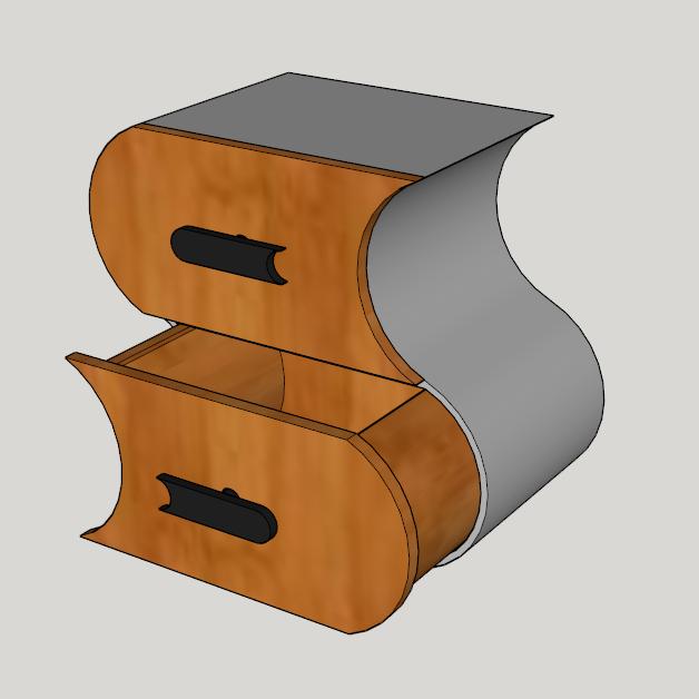 Capture d'écran (122).png Télécharger fichier STL meuble surf sur la vague (grand taille) • Modèle pour imprimante 3D, YOHAN_3D