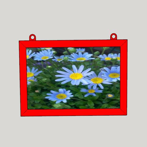 Free STL wall photo frame, YohanFerrari