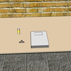 Descargar modelo 3D percha mini, YOHAN_3D