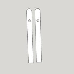 Modèle 3D eventail deco scrap, YohanFerrari