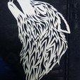 21751542_1409647465820566_4893545288481072764_n.jpg Download STL file wolf paper cut • 3D printing template, YOHAN_3D