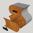 Capture d'écran (125).png Télécharger fichier STL meuble surf sur la vague (grand taille) • Modèle pour imprimante 3D, YOHAN_3D