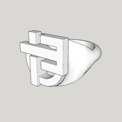 Imprimir en 3D Anillo Indochina 13 álbumes modelo 2 hueco, YOHAN_3D