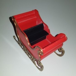 Download 3D printer designs Santa's sled, YOHAN_3D