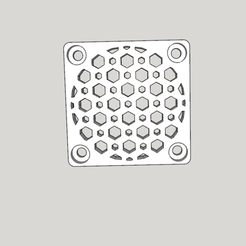 Download free 3D printing designs fan grill for 3d printer, YOHAN_3D