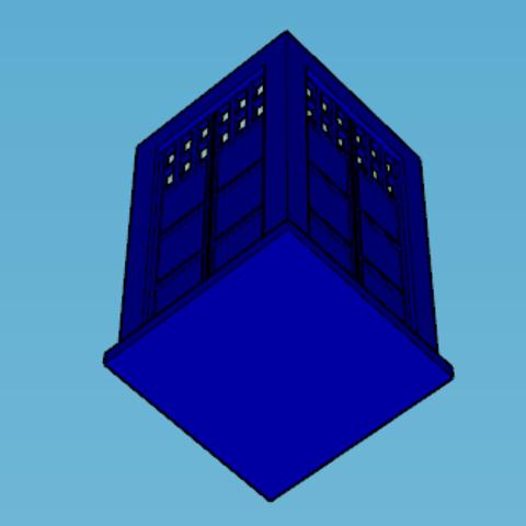 Capture d'écran (84).png Download STL file tardis (table bin, box, etc...) • 3D print model, YOHAN_3D