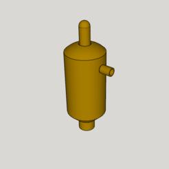 modelo stl bomba de agua manual, YohanFerrari