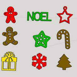Capture d'écran (401).png Download STL file christmas decoration brochure • 3D print model, YOHAN_3D