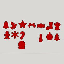 Capture d'écran (393).png Download STL file christmas decoration brochure • 3D print model, YOHAN_3D