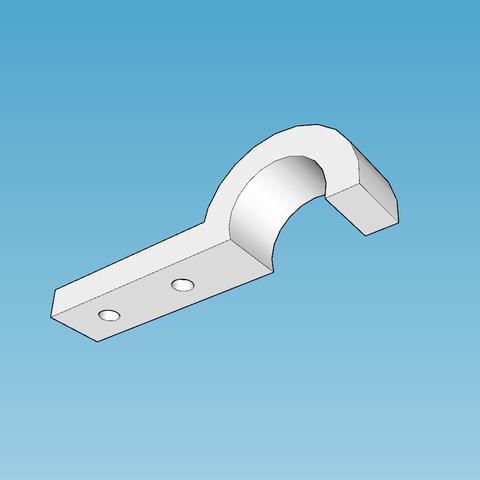 Capture d'écran (1320).png Télécharger fichier STL gratuit support cable visable et devisable remplace le collier de serrage pour la geetech pro c • Design pour impression 3D, YOHAN_3D