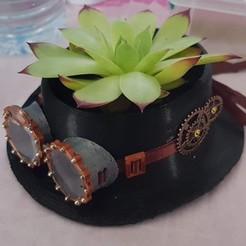 20200602_130117.jpg Download STL file steampunk flowerpot • 3D print template, YOHAN_3D