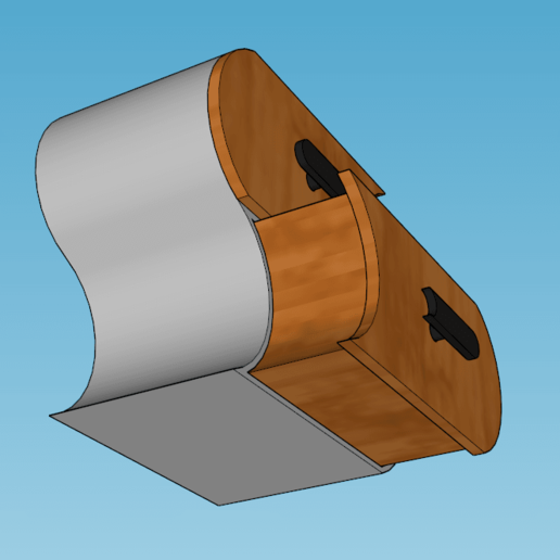 Capture d'écran (123).png Télécharger fichier STL meuble surf sur la vague (grand taille) • Modèle pour imprimante 3D, YOHAN_3D